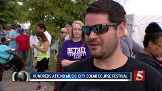 Hundreds Attend Music City Solar Eclipse Festival