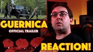 REACTION! Guernica Official Trailer #1 - War Movie 2016