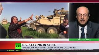 'US are occupiers': Washington to stay in Syria indefinitely to counter Iran