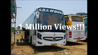 Mercedes Benz 15M Bus of SRS Travels! One of the Asia's Longest Bus!!