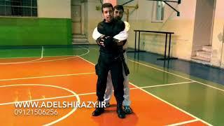 [دفاع شخصی خیابانی] - آموزش دفاع در مقابل گرفتن از پشت