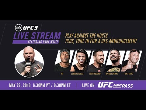 Xxx Mp4 EA SPORTS UFC 3 Live Stream With KSI UFC Champs Hosted By Dana White 3gp Sex