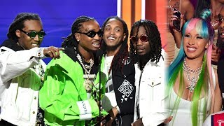 Migos WINS Best Group At 2018 BET Awards And Offset Calls Cardi B His Wife