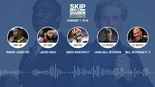 UNDISPUTED Audio Podcast (02.07.19) with Skip Bayless, Shannon Sharpe & Jenny Taft | UNDISPUTED