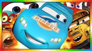 Cars ★ Flash McQueen ★ BLEU