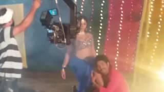 Archana Singh Hot Song Shoot | Film Action Raja
