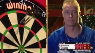 Darts World Masters 2016 Quarter Final Durrant vs Harms