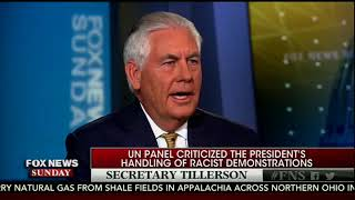 Sec of State Rex Tillerson throws Trump under the bus