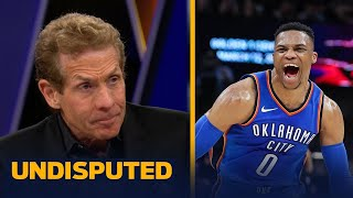 Skip Bayless: The Thunder are a bigger threat to the Warriors than the Rockets | UNDISPUTED