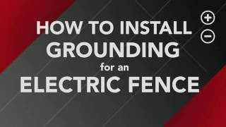 How to Install Ground Rods for your Electric Fence
