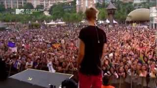 Justin Bieber - Boyfriend Live At MTV World Stage In Malaysia 2012