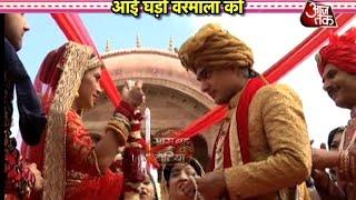 Jaimala Drama in Kaira's Royal Wedding