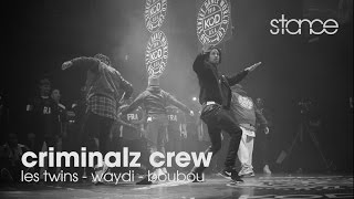 Criminalz Crew at KOD 2016 Finals // .stance // LES TWINS, WAYDI, BOUBOU
