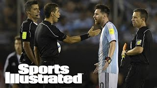 Lionel Messi Verbally Abuses Referee, Banned Four Argentina Matches | SI Wire | Sports Illustrated