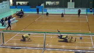 2019 goalball Japan Para Championships Turkey v Brazil 1st Half