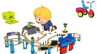 cartoon for kids - chu chu train - train cartoon for children - toy train videos for kids