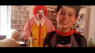 The True Side of Ronald McDonald in this funny banned commercial