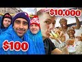 SIDEMEN $10,000 VS $100 HOLIDAY
