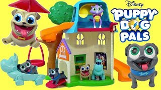 New PUPPY DOG PALS DOGHOUSE PLAYSET with  Rolly & Bingo