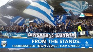 FROM THE STANDS: Huddersfield Town vs West Ham United