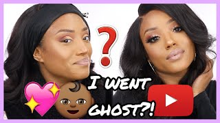 WHY I WENT GHOST!? RAISING A TEEN, DATING LIFE, 2019 GOALS! | CHIT CHAT GRWM!