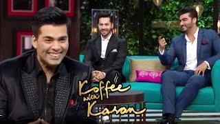 Varun Dhawan & Arjun Kapoor On Koffee With Karan Season 5   20th Nov 2016