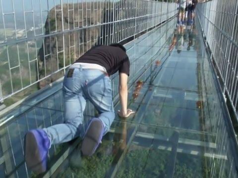 Xxx Mp4 Raw Tourists Brave Glass Bottom Bridge 3gp Sex