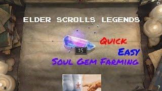 Elder Scrolls Legends: Fast and Easy Soul Gem Farming