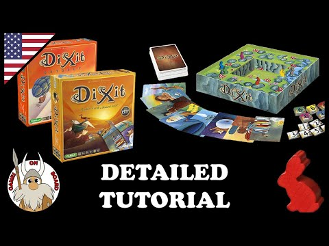 Xxx Mp4 How To Play Dixit Dixit Odyssey Detailed Tutorial English Best Board Game 2010 Games On Board 3gp Sex