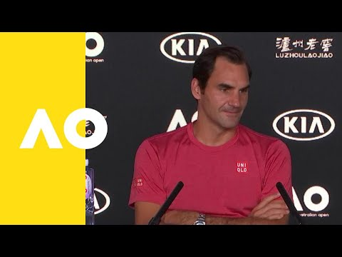 Roger Federer press conference 2R Australian Open 2019