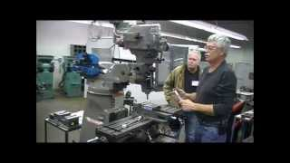 Bridgeport Type Milling Machines- Demonstration of features