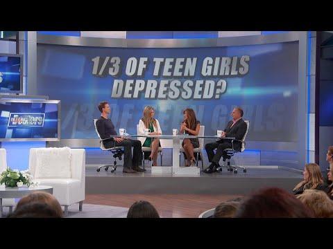 Xxx Mp4 Teenage Girls' Depression Rates Soar 3gp Sex