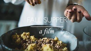 Nutriton Stripped Fall Supper Club