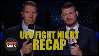 UFC Fight Night Recap: Jan Blachowicz edges out Jacare Souza in main event | ESPN MMA