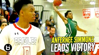 Louisville Commit Anfernee Simons Leads Team To Victory Over Oak Ridge!! Full Highlights!