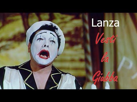 Mario Lanza Vesti La Giubba 1958   Widescreen