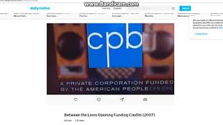 Between the Lions Funding Credits 2007