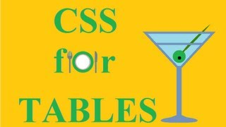 CSS how to: tables