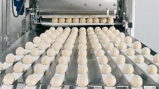 Amazing Automatic Bakery Machinery in Food Factory - Awesome Workers Bread Processing Fastest Skills