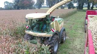 Krone Big X 530 VariStream harvester