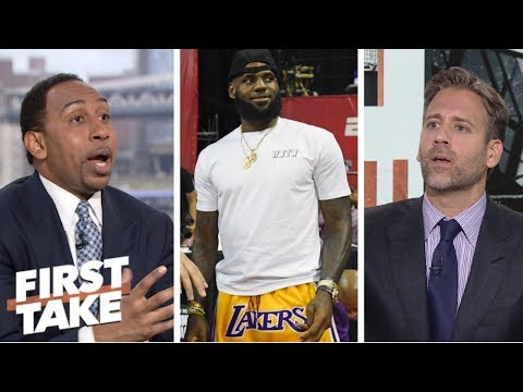 Max sees LeBron's reign as king of the NBA coming to an end First Take ESPN