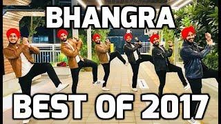 BHANGRA || BEST OF 2017 || FOLKING DESI || 2017 PUNJABI SUPER-HITS