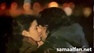 قبلات ساخنة لكريم وفاطمة لم تعرض في مسلسل
