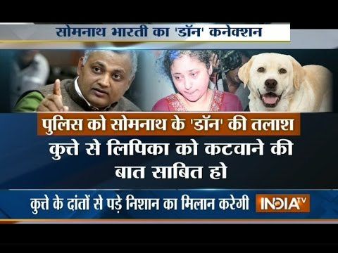 Delhi Police Searches for Somnath Bharti's Pet Dog Named Don - India TV
