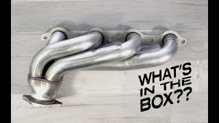 Whats in the Box?? E1 Hedman LS Camaro