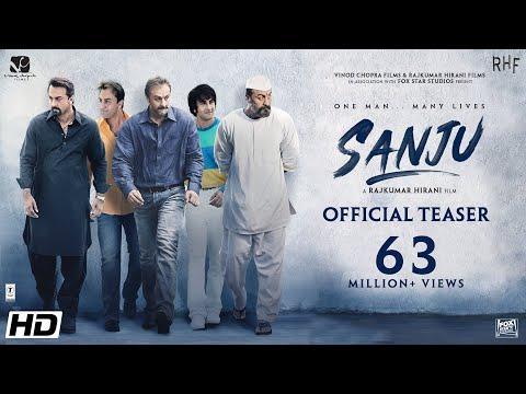 Sanju Official Teaser Ranbir Kapoor Rajkumar Hirani