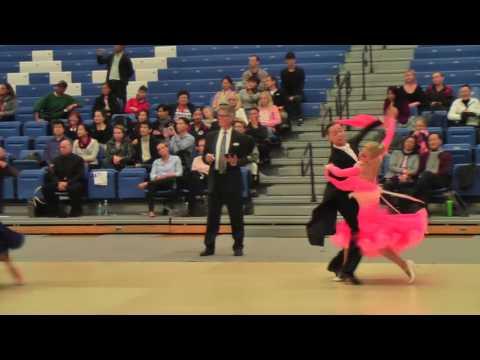 Evgeny Moshenin - Dana Spitsyna | SF Viennese Waltz | American DanceSport Festival 2016
