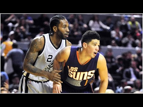 watch Devin Booker and Kawhi Leonard Duel in Mexico City | 01.14.17