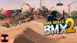 Mad Skills BMX 2 (By Turborilla) - iOS / Android - Early Gameplay