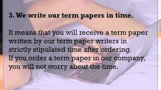 Worst term paper ever